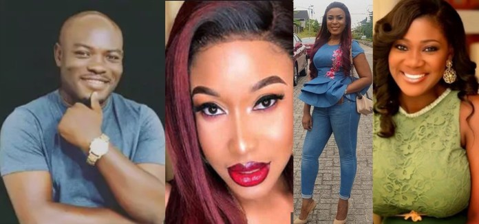 Both Tonto Dike and Linda Ikeji Have Gone Into Relationships And Came Out Empty - OAP Batters Duo Over Mercy Johnson 2