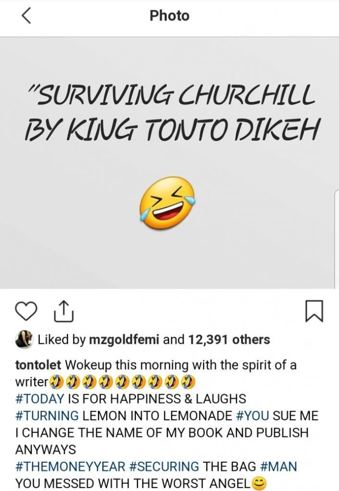 Tonto Dikeh Releases Book About Her Crashed Marriage Just Like Toke Makinwa 2