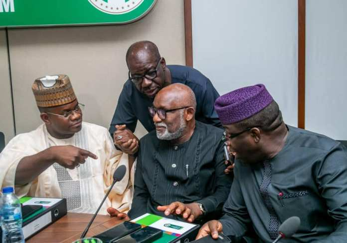 Photos: Kayode Fayemi Elected Nigeria's Governor's Forum Chairman {NGF} 7