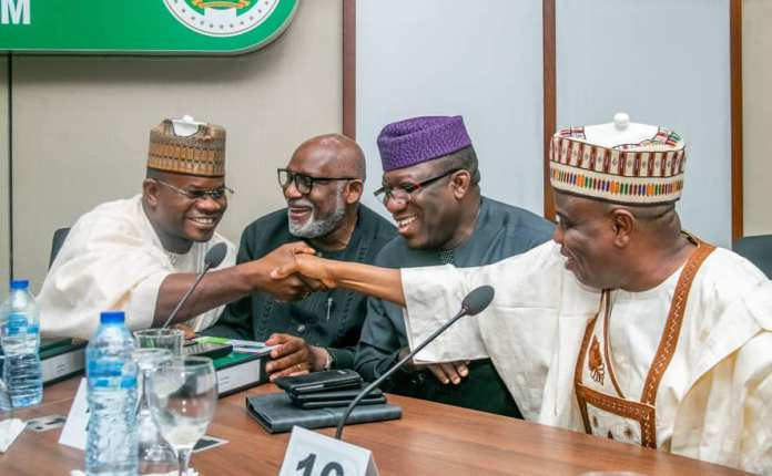 Photos: Kayode Fayemi Elected Nigeria's Governor's Forum Chairman {NGF} 1