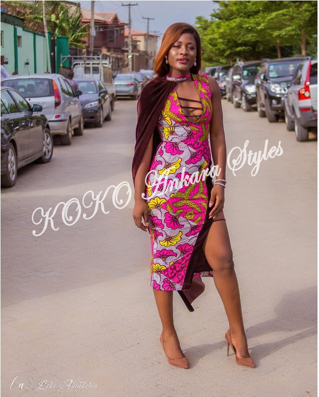 Flaunt Your Hot Legs In These 5 Ankara Thigh-High Slit Styles 2