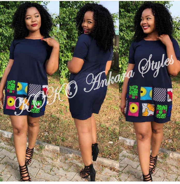 Five Ankara Styles With Beautiful Patches That You Will Definitely Slay In 5