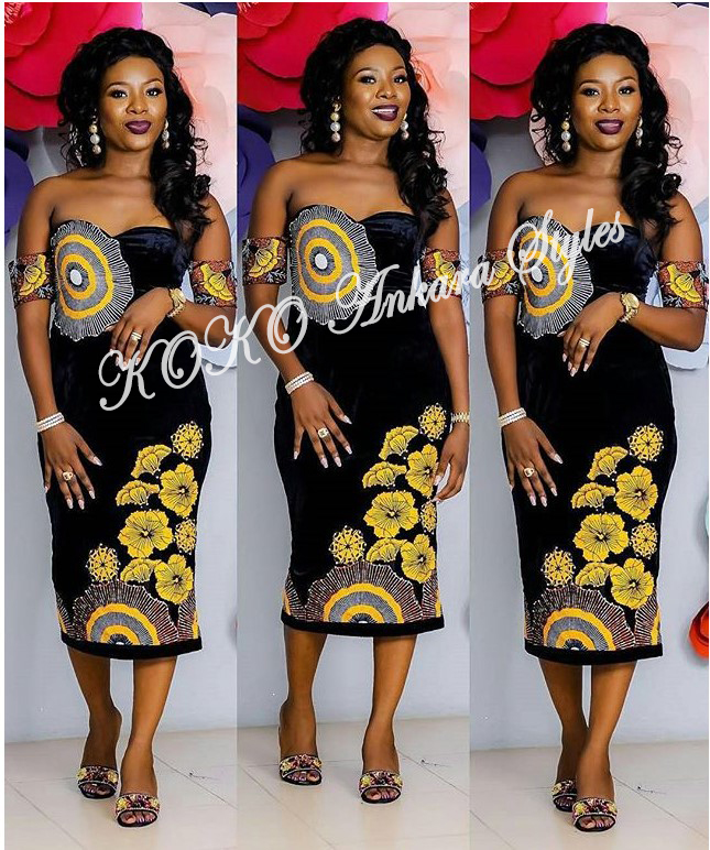 Five Ankara Styles With Beautiful Patches That You Will Definitely Slay In 2