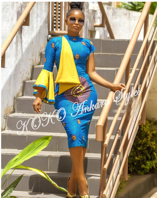 Weekday Glam! Five Ankara Styles You Can Rock To Work 4