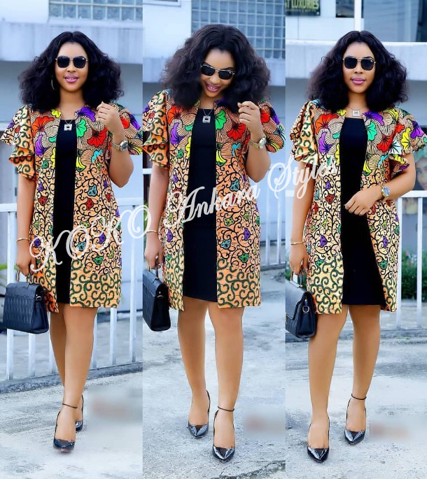 Weekday Glam! Five Ankara Styles You Can Rock To Work 1