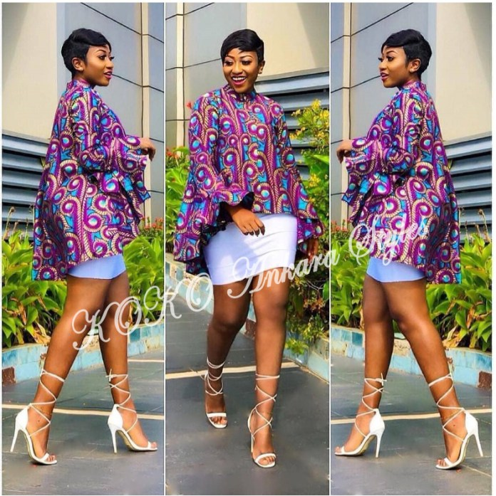Be The Cynosure Of All Eyes In These Five Extremely Gorgeous Ankara Styles 4