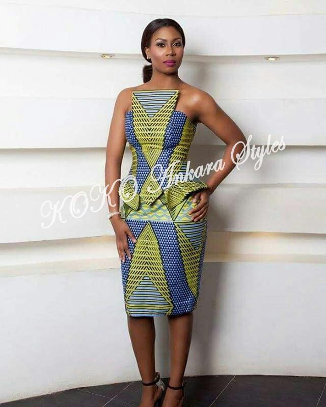 Slay Beautifully In These Five Fantastic Ankara Styles 1
