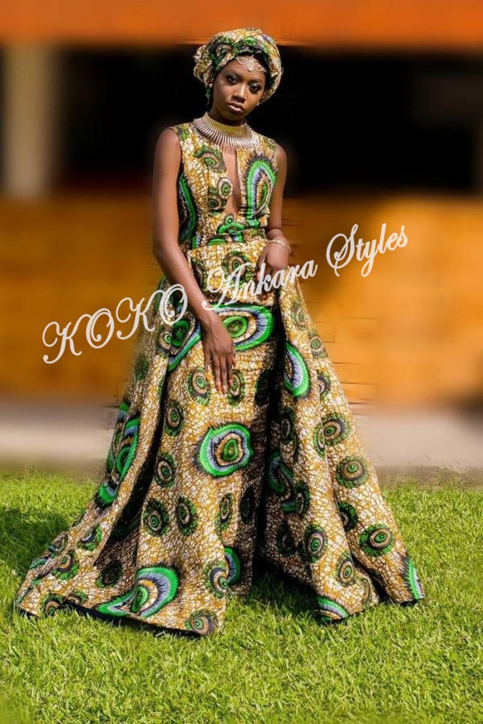 Slay Beautifully In These Five Fantastic Ankara Styles 3