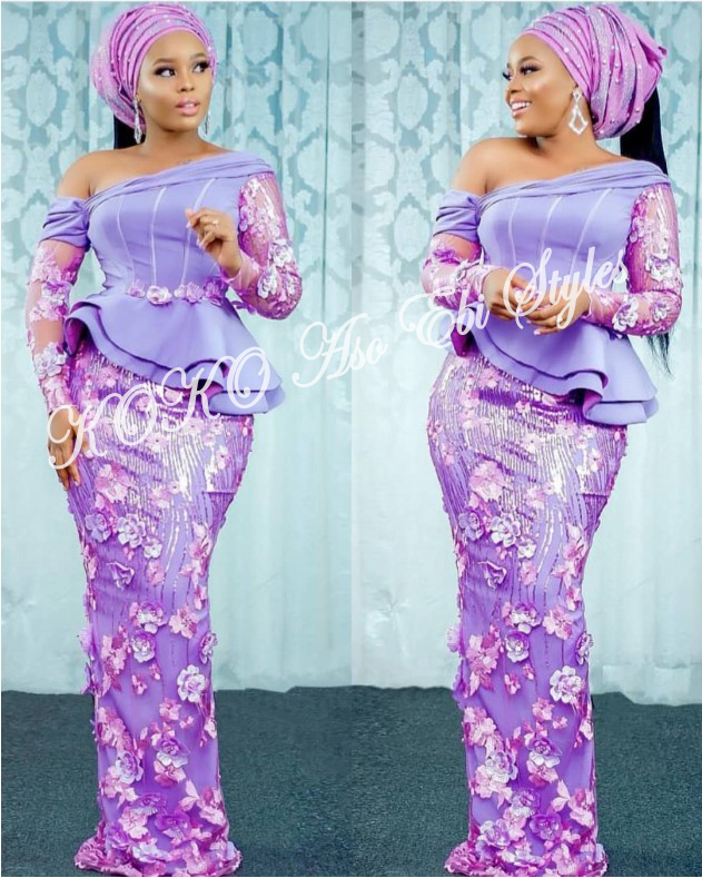 Be The Stunning Wedding Guest In These Five Breathtaking Aso-ebi styles 5