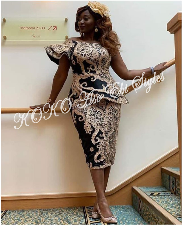 Five Aso-ebi Styles That Guarantee The Beautiful Slay You Have Been Looking For 4