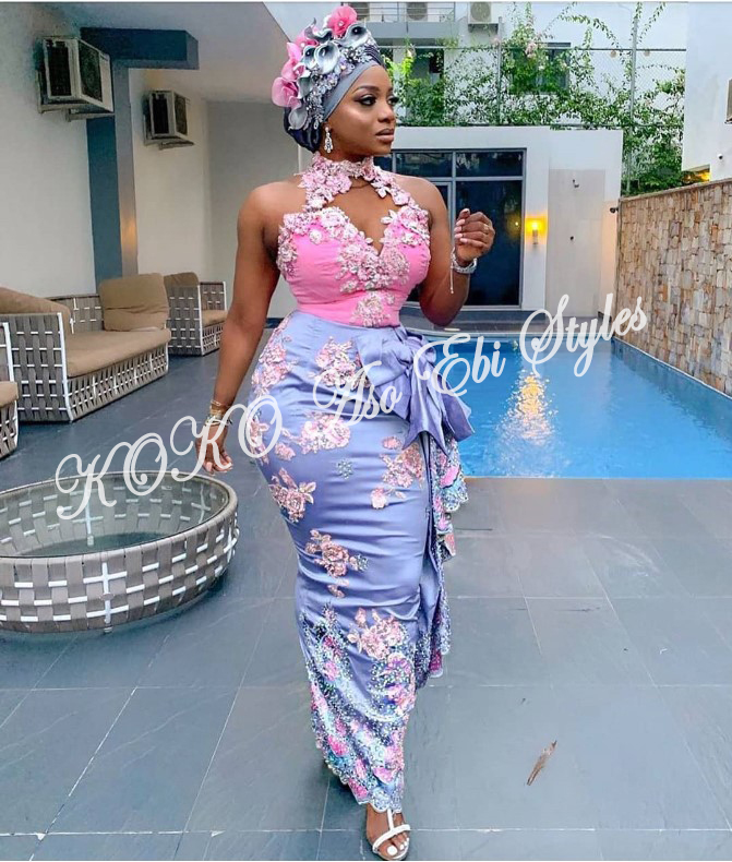 Keep It Classy, Chic And Gorgeous In These Five Aso-ebi Styles 3