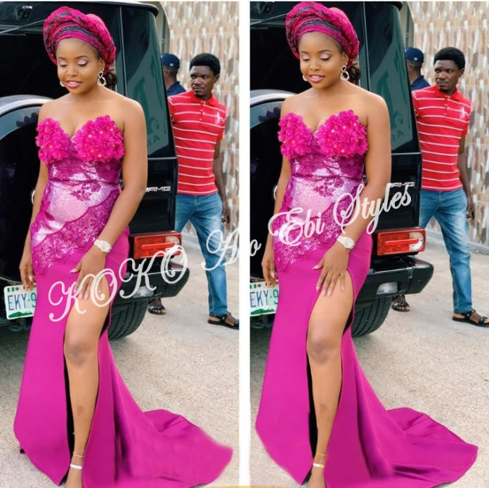 Beautiful! You Need To See These Five Extra Gorgeous And Stylish Aso-ebi Styles 3