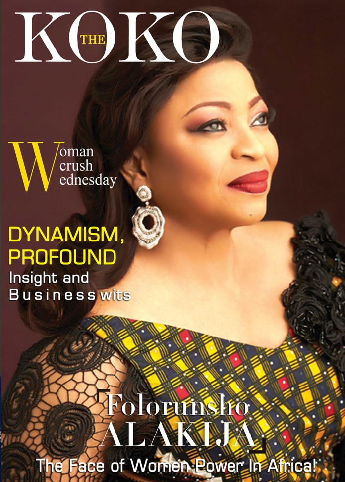 The Face Of Women Power In Africa- Folorunsho Alakija Is Our WCW 1