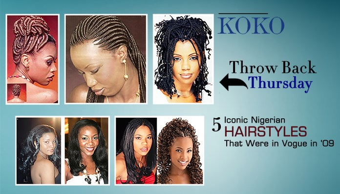 TBT: 5 Iconic Nigerian Hairstyles That Were In Vogue In The '90s 1