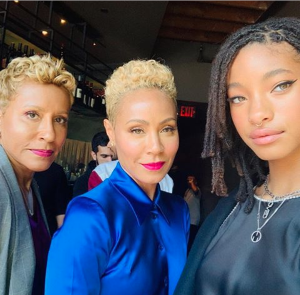 3-Generations Of Beauty! Stunning Photo Of Adrienne, Jada Pinkett-Smith And Willow Surfaces Online 2