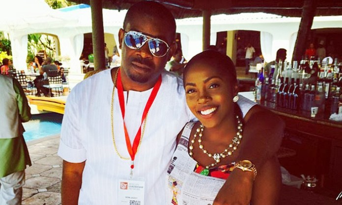 More Than Just Music! Five Times Don Jazzy And Tiwa Savage Served Formidable Music Teammate Goals 5