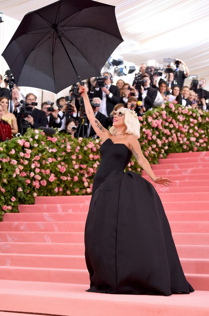 #MetGaga! Lady Gaga Steals The Show With Four Daring Outfits On 2019 Met Gala Red Carpet 4