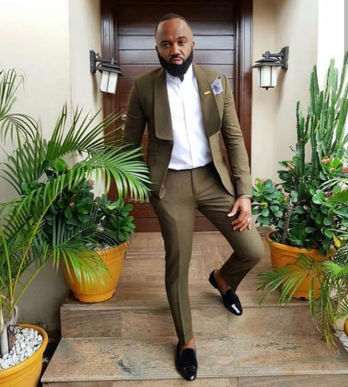 Hilarious! Man Photoshops His Head On Noble Igwe's Body In Order To Steal His Fashion Style 1