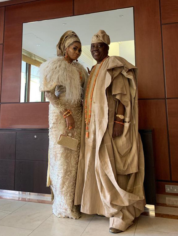 Billionaire Couple Rasaq And Shade Okoya Attends Queen Of England's Garden Party At Buckingham Palace 3