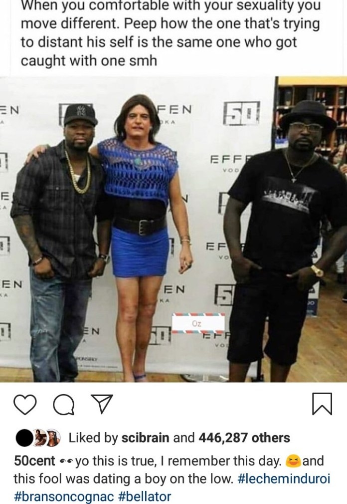 50 Cent Trolls Young Buck For 'Dating A Boy On The Low' Even After Distancing Himself From A Transgender 2