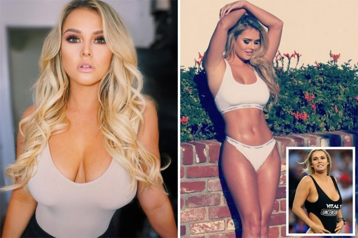 Kinsey Wolanski Releases Stunning Sizzling Images After Champions League Invasion Fame 6