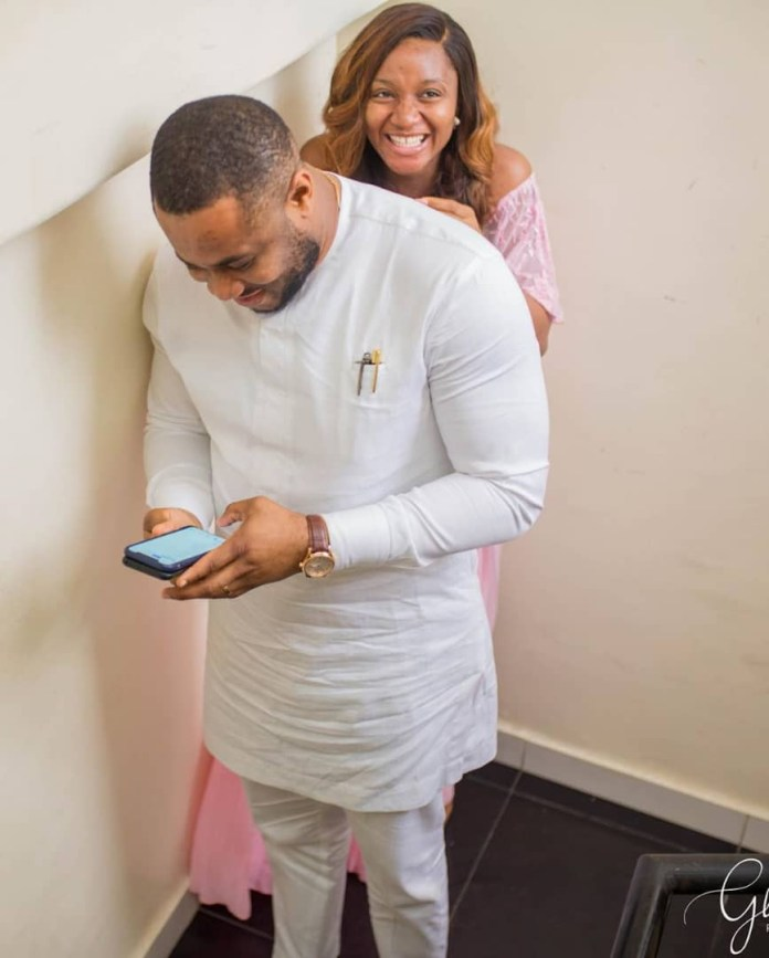 The Insider: Stunning Photos From Ex- Beauty Queen Powede Eniola Awujo's Surprise Baby Shower 1