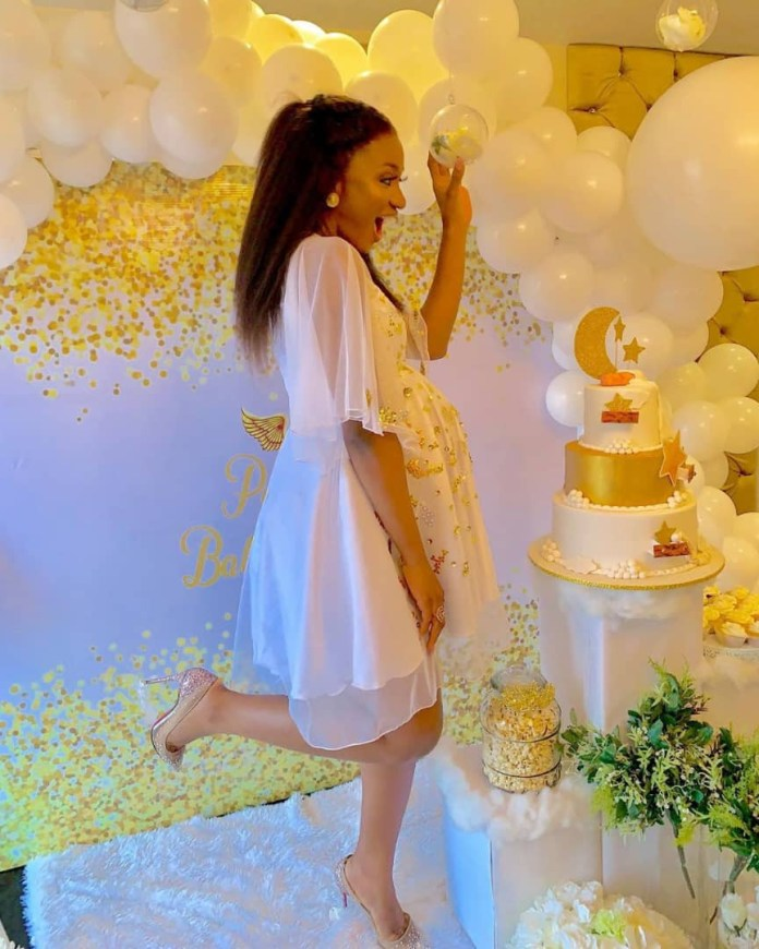 The Insider: Stunning Photos From Ex- Beauty Queen Powede Eniola Awujo's Surprise Baby Shower 6