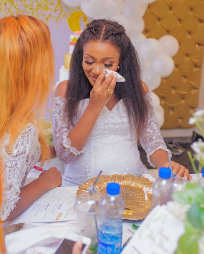 The Insider: Stunning Photos From Ex- Beauty Queen Powede Eniola Awujo's Surprise Baby Shower 5