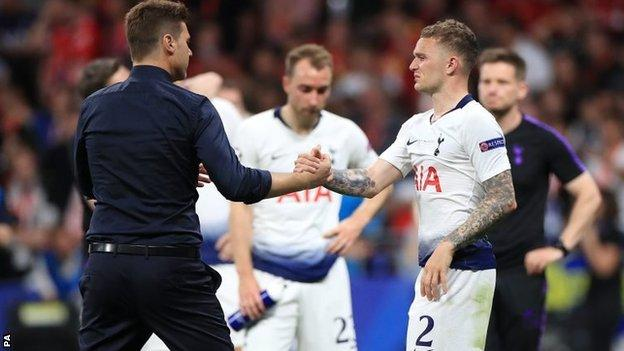 Atletico Madrid Signs Kieran Trippier From Tottenham