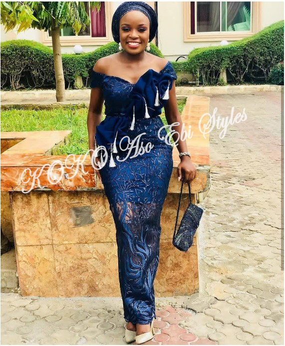 You Need To See These Five Exceptional And Highly Stylish Aso-ebi Styles 5