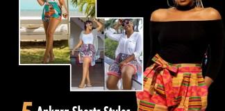 Ankara Shorts kokotv.nigeria