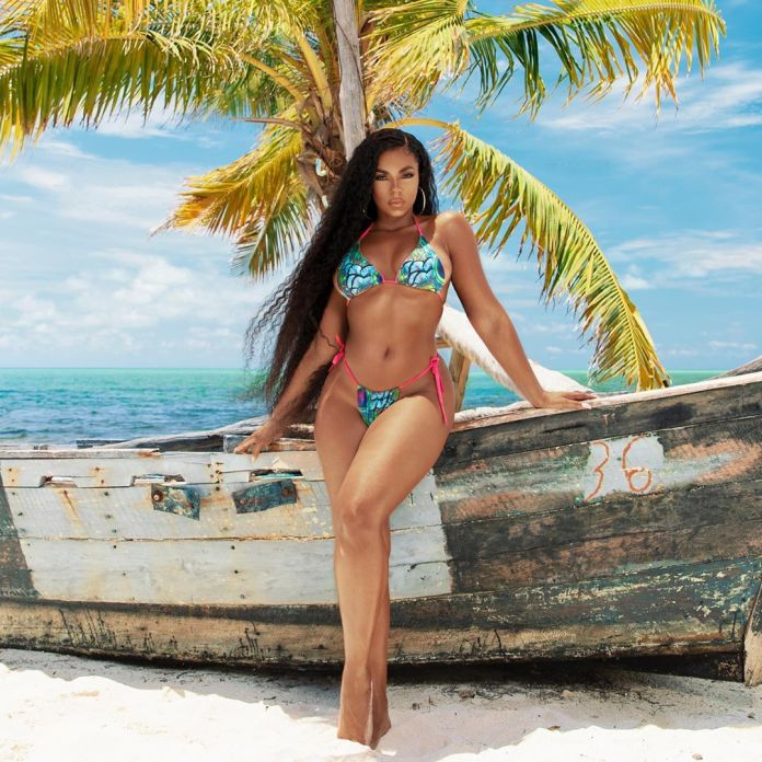 Hawt! Five Times Ashanti Proved She's The Queen Of Sexy Two-piece Bikinis 4