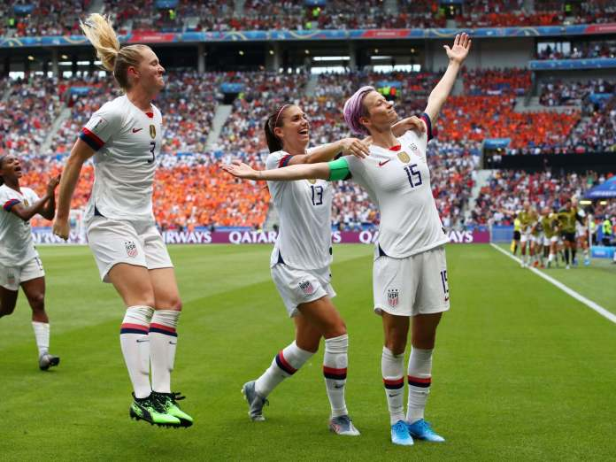 France 2019: USA Defeats Netherlands 2-0 To Win Its Record 4th Women World Cup 3