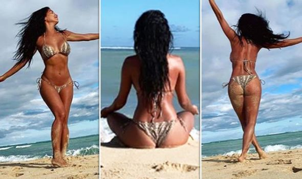 Former Pussycat Doll, Nicole Scherzinger Puts Her Perky Derriere And Assets On Display In Racy Snaps 3