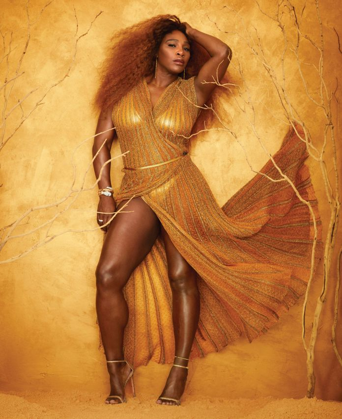 Most Stylish Athlete! Serena Williams Drips Hot On Fashionable Fifty's Issue