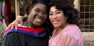 Seun Olagunju Dazzles In Pink Dress As She Celebrates Graduating Daughter