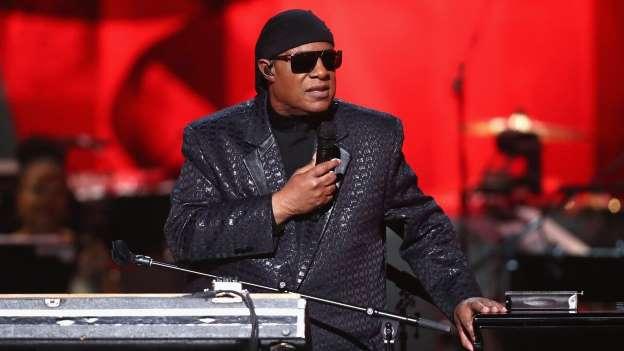 Legendary singer Stevie Wonder