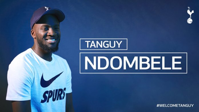 #WelcomeTanguy: Tottenham Announce Record Signing Of Midfielder Tanguy Ndombele From Lyon 2
