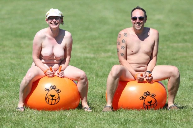 Nudefest 2019: Hundred Goes Naked As They Attended Biggest Naturist Event In Britain 5