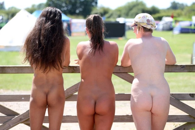 Nudefest 2019: Hundred Goes Naked As They Attended Biggest Naturist Event In Britain 2
