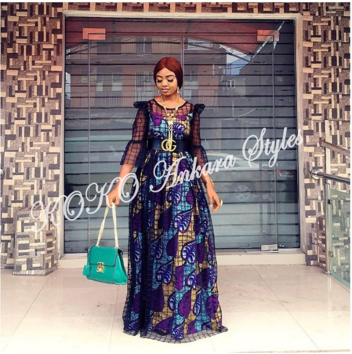 Five Stunning And Chic Ankara Styles You Should Rock This Month 2