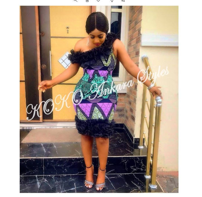 Five Stunning And Chic Ankara Styles You Should Rock This Month 5