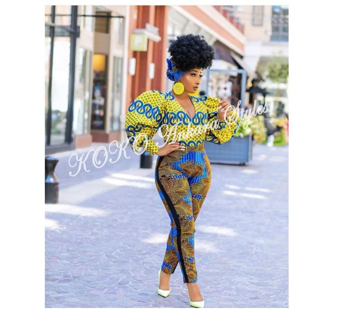Get In The Glam Zone With These Five Printastic Ankara Designs 4