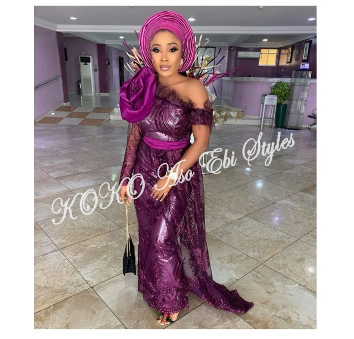 Slay Beautifully In These 5 Amazing And Ultra Chic Aso-ebi Designs For Your Next Owanbe 5