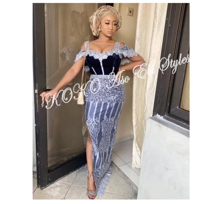 Five Lovely And Trendy Aso-ebi Styles To Slay As A KOKOnista 4
