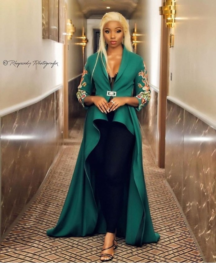 BamBam For Life! Bamike Olawunmi Glows In Medlin Couture 1