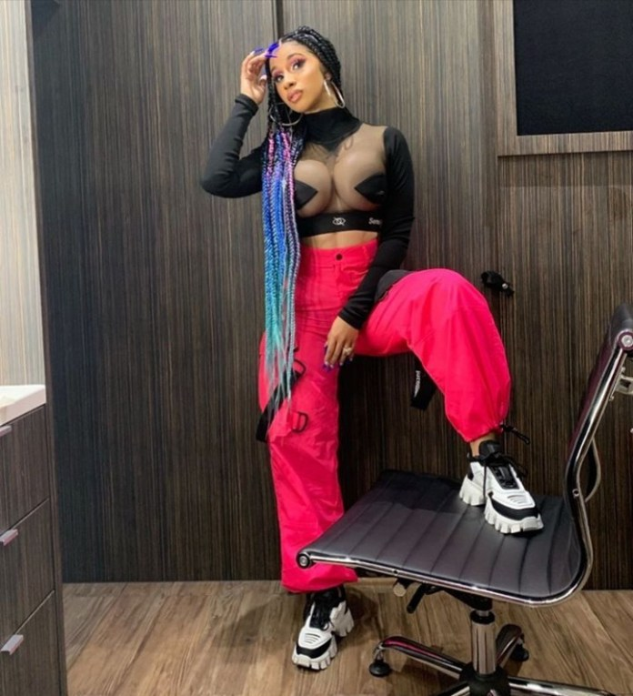 Cardi B Goes Braless, Speaks On Why She 'Bought' Her Enhanced Boobs