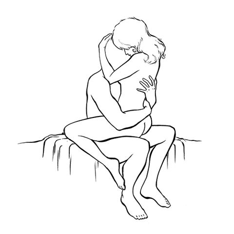 That Sharp Naija Guy: 5 Great Sex Positions You Must Do On Your First Night Together 4