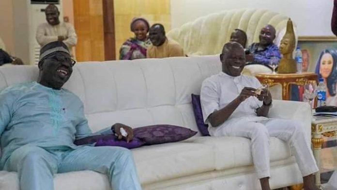Governor Godwin Obaseki And Adams Oshiomhole Reconcile In Edo 2