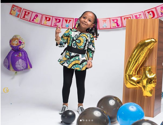 KOKO Junior: Ahmed Musa's Daughter Is Super Cute As She Turns 3 2